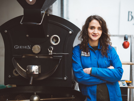 4 minutes with Mihaela, head roaster at Belleville.