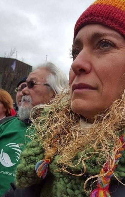 Philippa Settels & David Suzuki