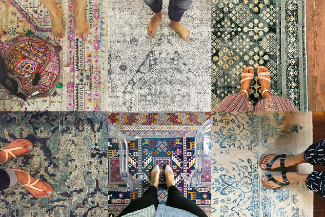 Fall-ify Your Home: Part IV - Area Rugs