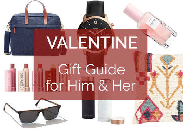 Valentine Gift Guide for Him & Her