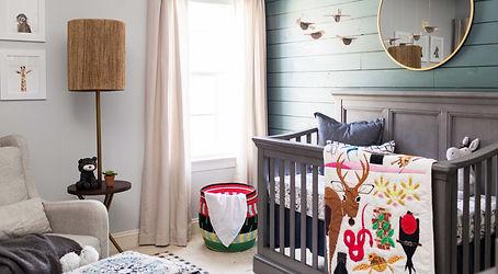 Nashville Interior design portfolio for the nursery room