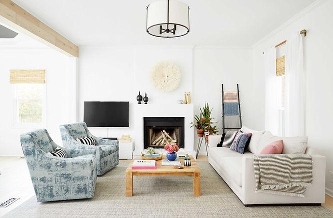 Globally modern Nashville interior design