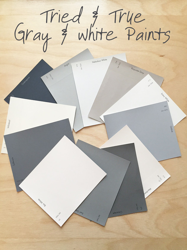 Tried & True Gray & White Paints