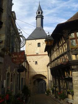 Quartier historique et son beffroi