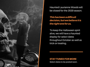 Haunt 2020 Announcement