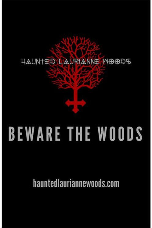 Haunted Laurianne Woods Poster