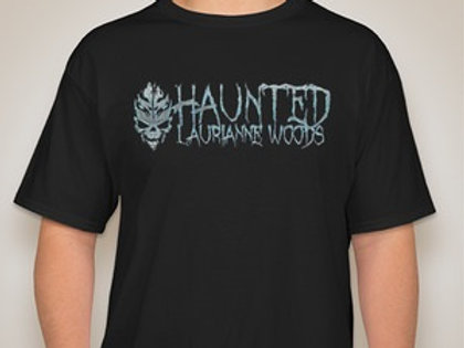 Haunted Laurianne Woods Classic Logo T-shirt