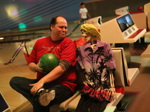 HLW Scarecrew Bowling Night