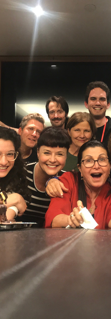 """Anne"" (most) Cast and Crew  (Director: Eve Brandstein, Producer: Suzi Dietz, Writer: Nick Blaemire [almost pictured])"