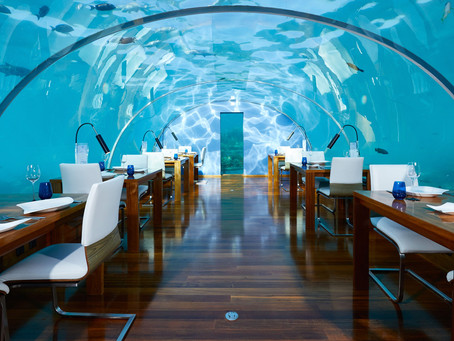 Would you like to stay in an underwater villa?