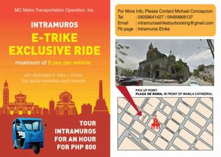 Chartered E-Trike