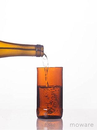Upcycled Beer Bottle - Set of Glasses
