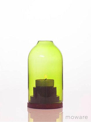 Upcycled Wine Bottle - Candle Holder