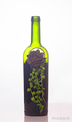 Upcycled Wine Bottle - Vessel