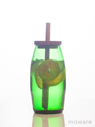 Upcycled Wine Bottle - Travel Cup