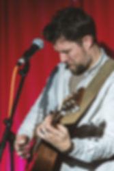 Rupesputin, guitar in Devon klezmer band