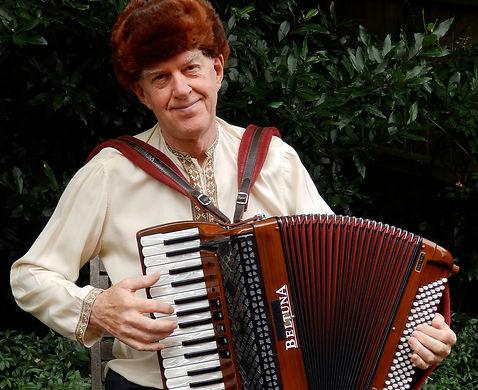 Basil Bunelik of Devon Klezmer Band Lvov Affair