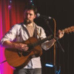 Rupe McDonald guitar and vocals with Lvov Affair klezmer band, Devon