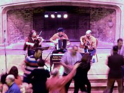 Lvov Affair performing at Dartington Hall, Devon