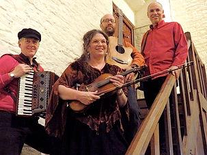 Amber Fire Ceilidh Band, Devon