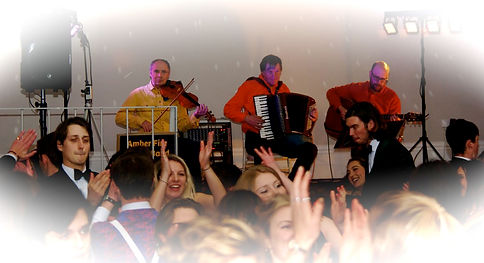 Barn Dance fun in Devon