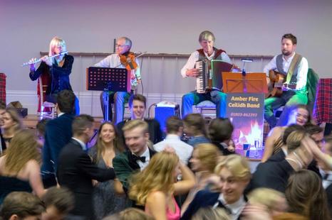 Exeter Caledonian Society Ball, Devon