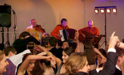 Barn Dance fun at Exeter Castle in Devon