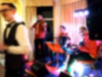 Amber Fire Ceilidh bandat Imperial Hotel Torquay Devon 2019
