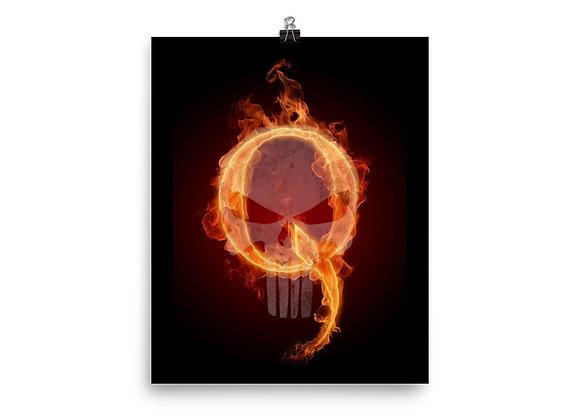 Q Patriot Poster
