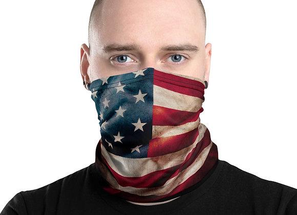 American Flag 1/2 Mask