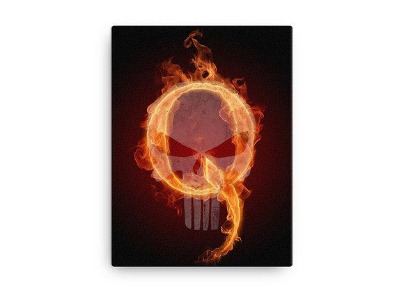 Q Patriot Logo Canvas