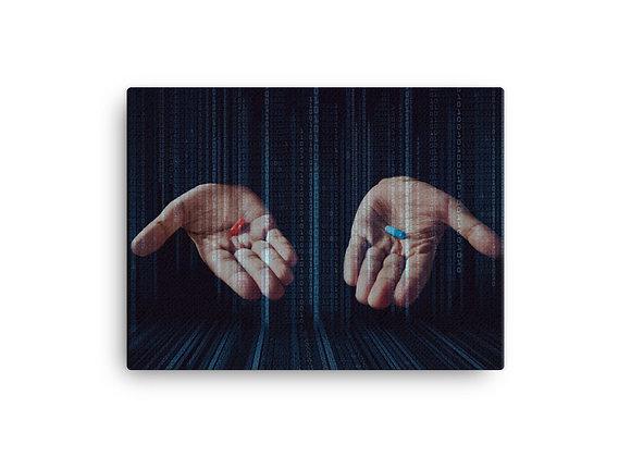 Redpill Matrix Canvas