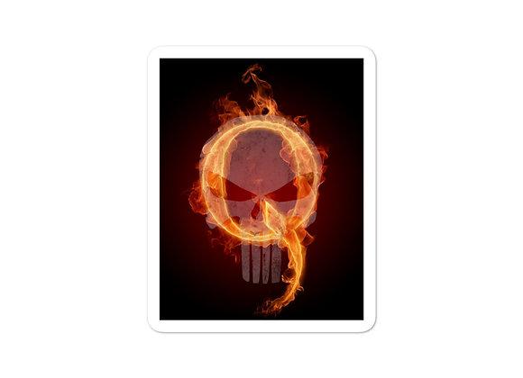 Q Patriot Punisher Sticker