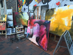Live painting Qualifinder event Oslo