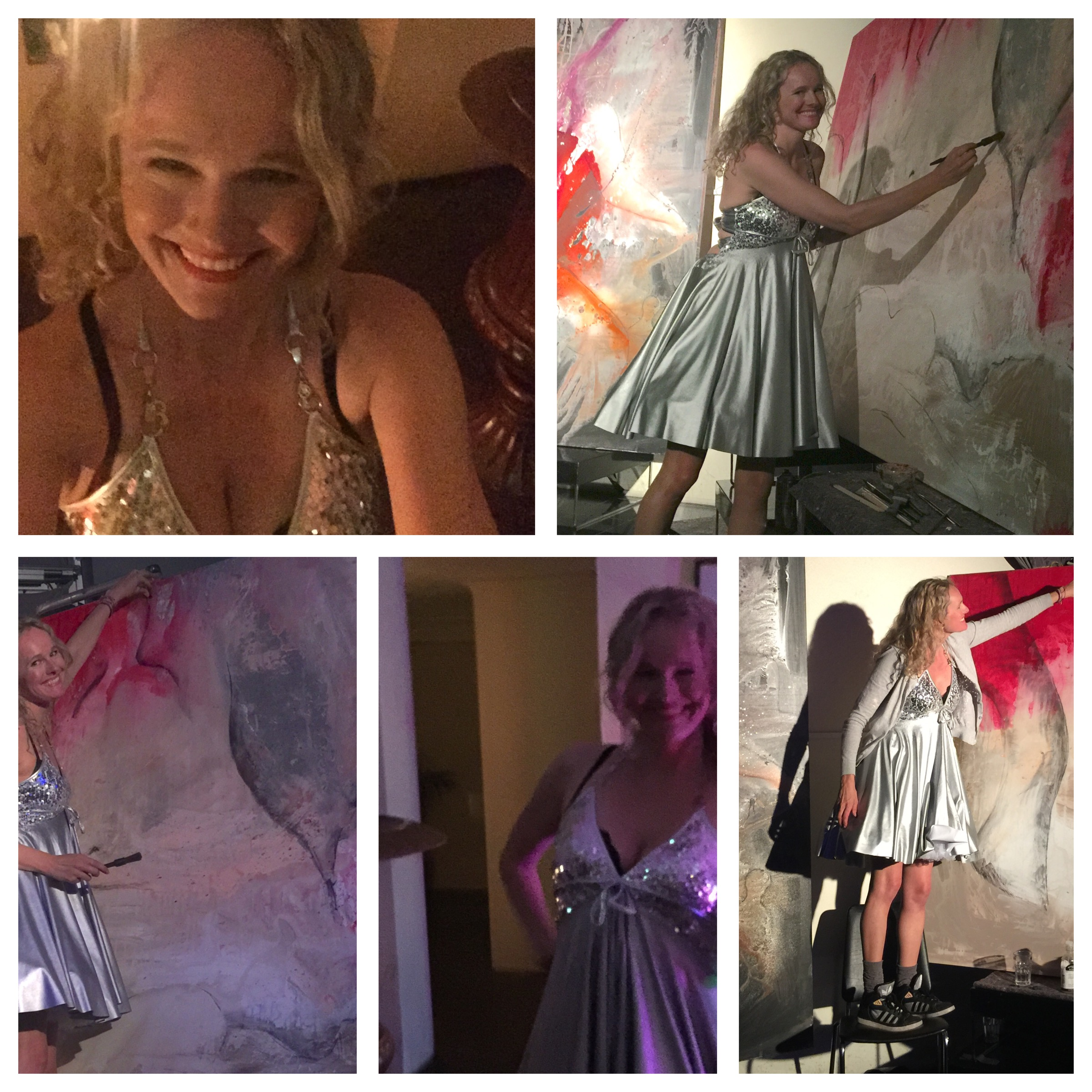 Oslo Trend Show Live Painting