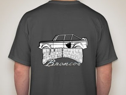 Caged Bronco Graphic Tee