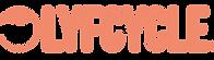 Lyfcycle Horizontal Logo Lockup - Mono C