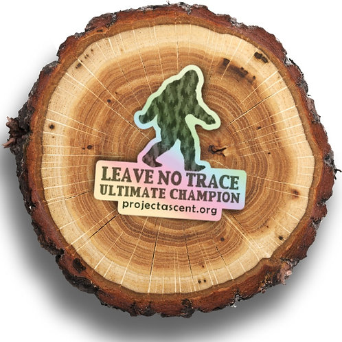 Leave No Trace Ultimate Champion Holographic