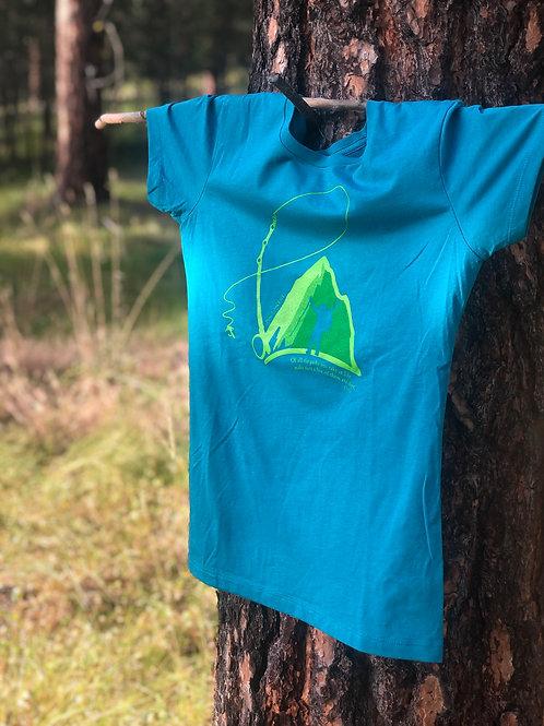 Women's Teal T- Shirt