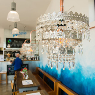 Our copper chandeliers