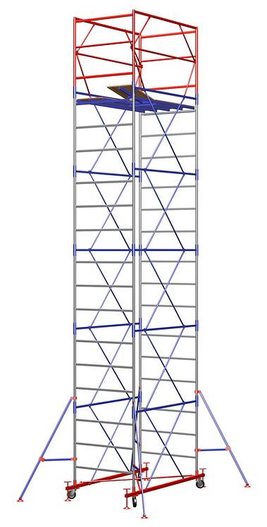 Вышка тура ВСП Площадка, м 1,5*1,5 высота 7,3м