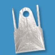 Фартук полиэтиленовый, белый ПНД 20 мкм