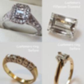 Millenium Halo ring