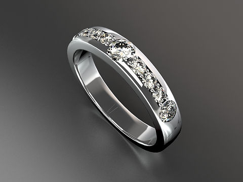 Platinum Diamond Eternity