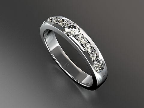 Platinum Diamond Eternity