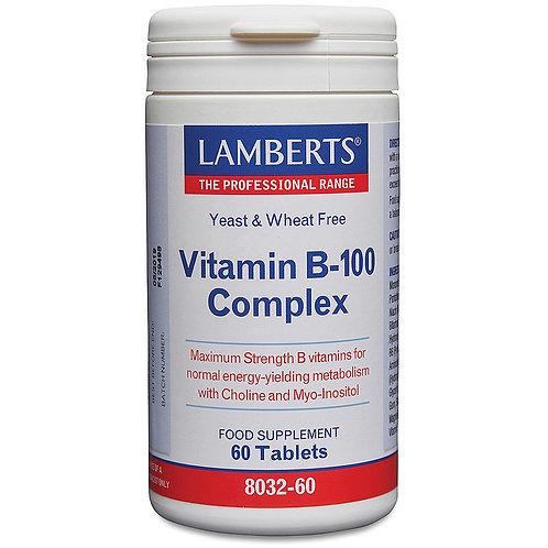 Lamberts Health Vitamin B-100 Complex