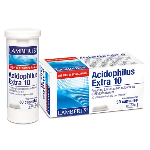 Lamberts Health Care Acidophilus Extra 10 30 Capsules