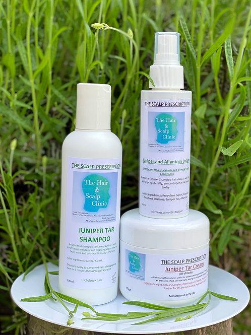 Juniper Collection Shampoo Lotion & Cream