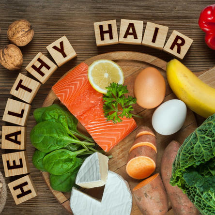 Can good nutrition help fight hair loss?