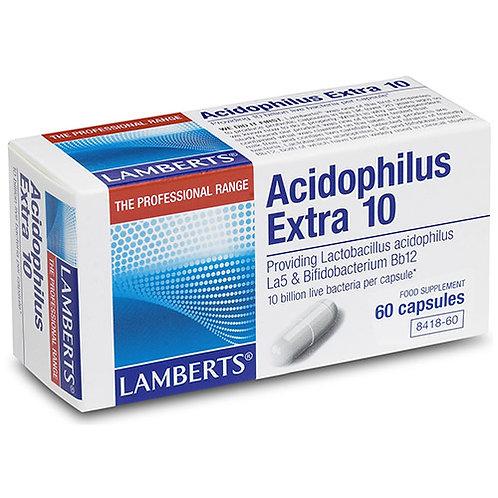 Lamberts Health Care Acidophilus Extra 10 60 Capsules